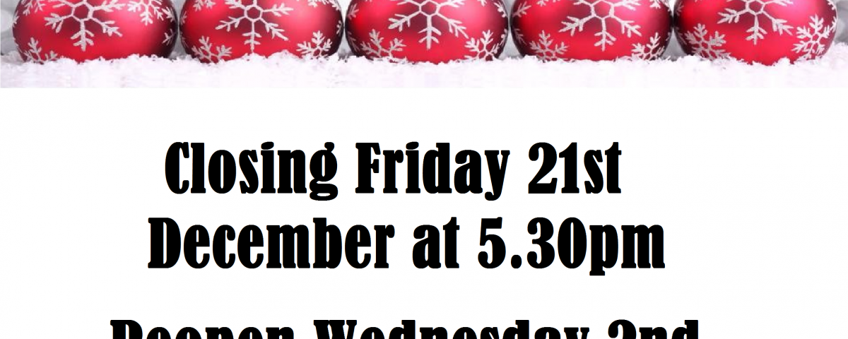 Christmas Hours.Christmas Opening Hours 2018 Pk Tiles